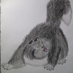 Chat Contrebasse dessins