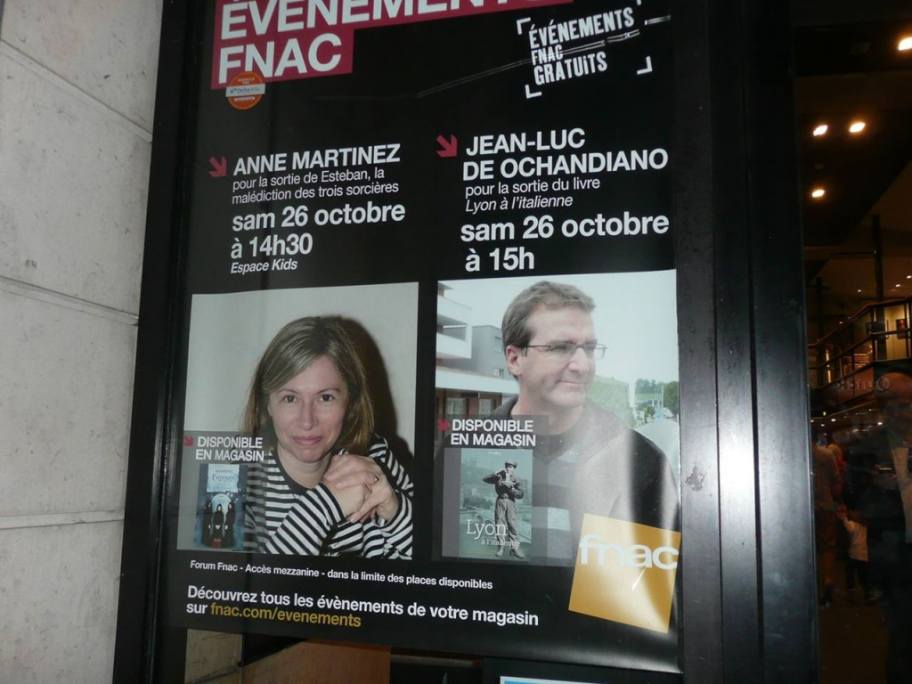 Affiche Fnac Bellecour